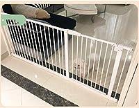 ベビーゲート フェンス ドア付き 圧力フィット安全メタルゲートは、利用可能な拡張機能を持つ78センチメートル背幅調節可能な61〜266.9センチメートルエクストラワイドペットゲートベビーゲートスタンド (Color : High 78cm Width, Size : 247cm-256.9cm)