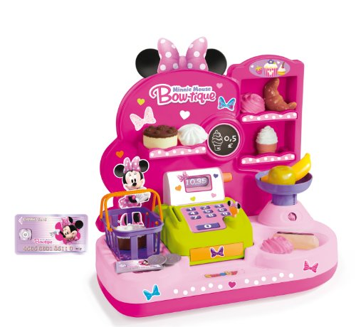 Smoby 24067-Minnie Souris bonbons boutique