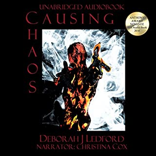 Causing Chaos audiobook cover art