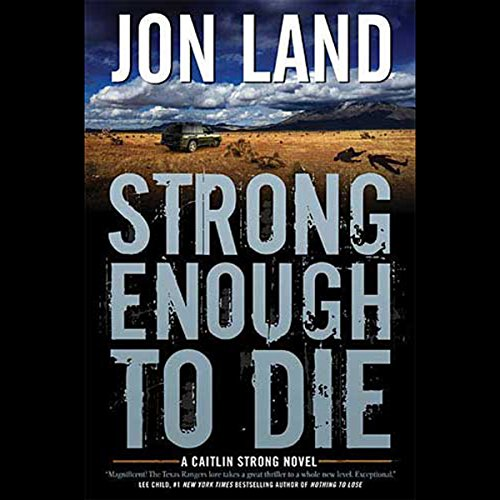 Strong Enough to Die audiobook cover art