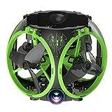 LJJOZ Mini Aereo Aereo Portatile con Design Pieghevole Drone Portatile,...