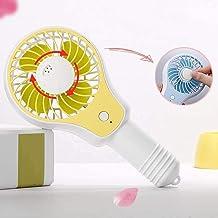 Draagbare koel-mini-ventilator, USB-ventilator, geruisloze desktop mini-buitenventilator, draagbare aromatherapie-ventilat...