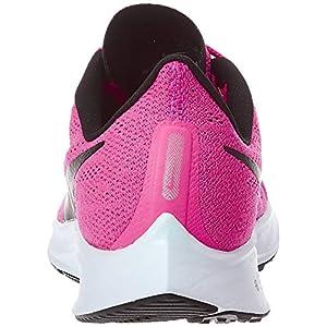 Nike Women's Air Zoom Pegasus 36 Running Shoes, Hyper Pink/Half Blue/Black, 7.5