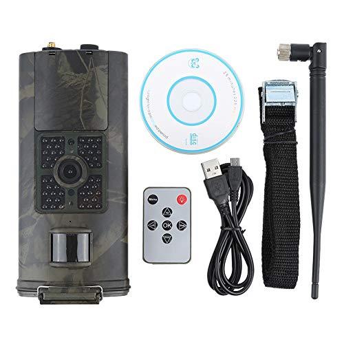 KUANGQIANWEI Wildkamera HC300M HC550M Hc-700G-Jagd-Kamera 12MP Night Vision MMS GPRS Foto Trap 3g Tracking-Kamera-Foto (Color : 700g EU Plug)