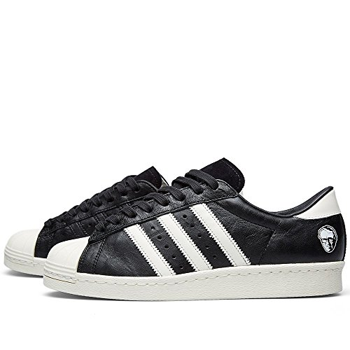 Adi Dassler x Adidas Superstar 80s Consortium 10th Anniversary - Black/White Trainer Size 7 UK