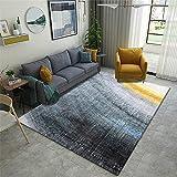 Alfombras De Entrada Gris Alfombra gris de la alfombra de la sala de estar. Alfombra simple y duradera es fácil de limpiar Alfombra Terraza Exterior 120X160CM Alfombras Para Gatos 3ft 11.2''X5ft 3''