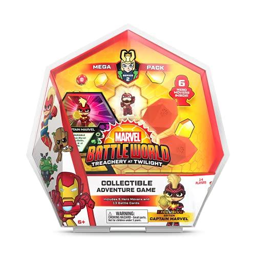 Funko 55150 Marvel Battleworld: Serie 2 Mega Pack - Capitán Marvel, Multicolor