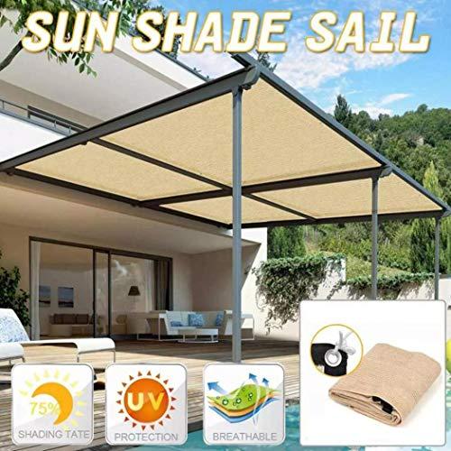 Junio1 Toldo para toldo con Protector Solar para Patio, jardín, Exterior, Resistente a los Rayos UV Telas para toldos