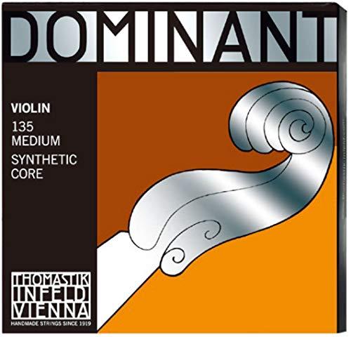 Thomastik snaren voor viool Dominant nylonkern, omsponnen Set E-snaar/aluminium M