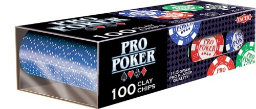 Tactic Games UK PRO Poker Reloader 100 Chips