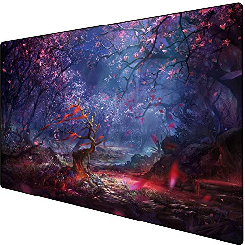 Gaming Mouse Pad Customized Extended Large Desk Mat Non-Slip Mouse Mat (120x40 Senlin)