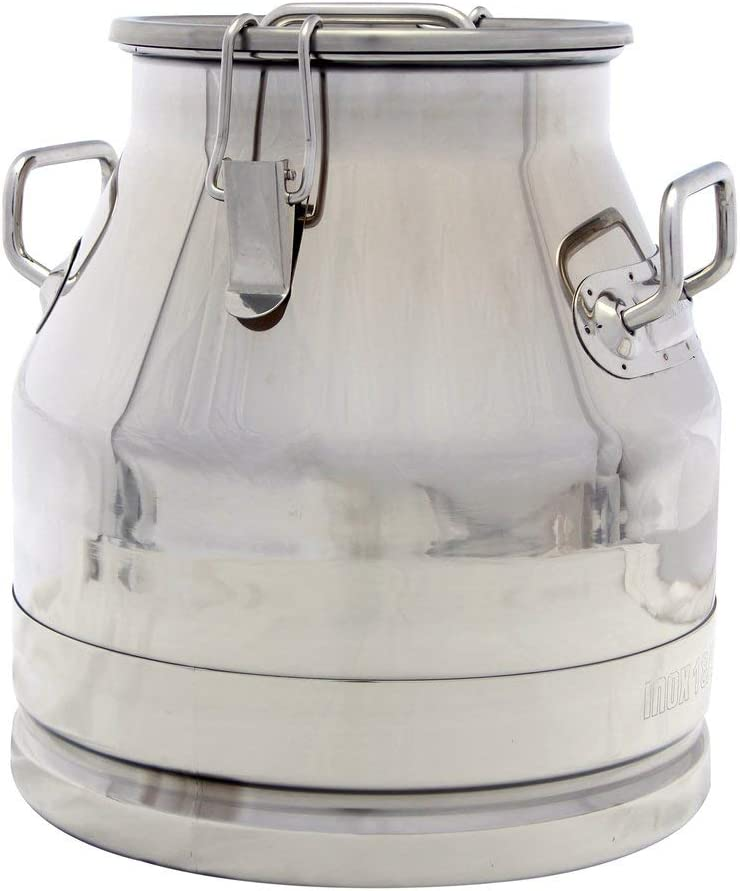Stainless Steel Milk Transport Cans mart Strong Lid Sealed with Store and