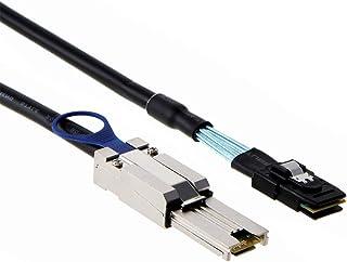Azhizco External Mini SAS 26 Pin SFF-8088 Male to Internal Mini SAS 36 Pin SFF-8087 Male Cable, 3.3ft