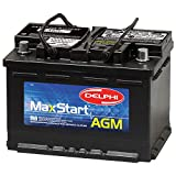 Delphi BU9048 MaxStart AGM Premium Automotive Battery, Group Size 48