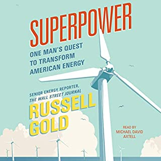 Superpower audiobook cover art