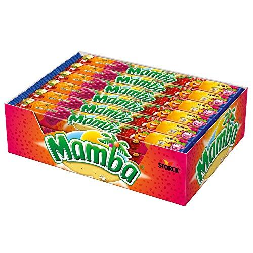 Mamba (24 x 4er Stangen) / Fruchtiges Kaubonbon