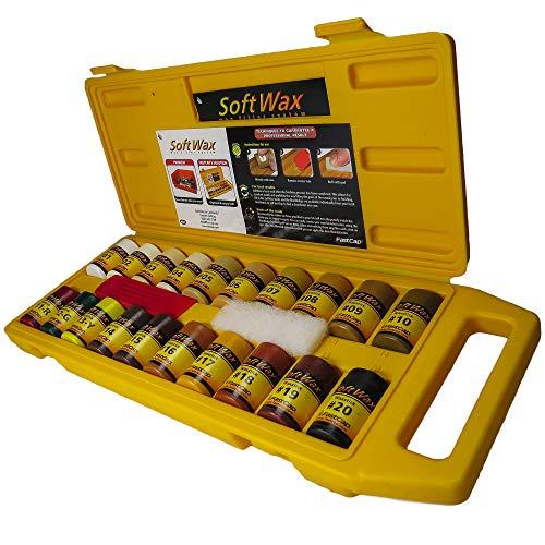 Laserjamb FastCap WAXKIT Softwax Kit, 0.7 oz per Wax Stick, 20 Colors