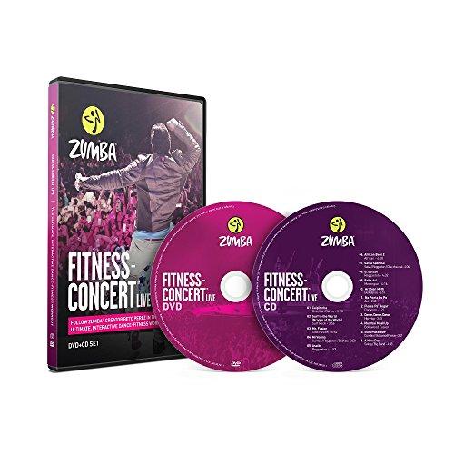 Fitness-Concert Live Zumba - Juego de DVD y CD