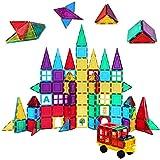 Shapemags 100 Piece Set 100 Pcs Magnet Building Tiles...