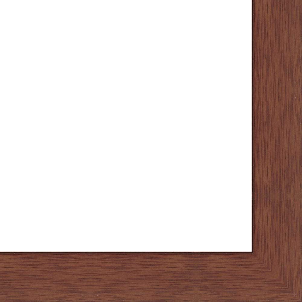 5x25 Superior - 5 x 25 Cherry Flat Wood Acry UV Framer's with Solid Frame Ranking TOP11