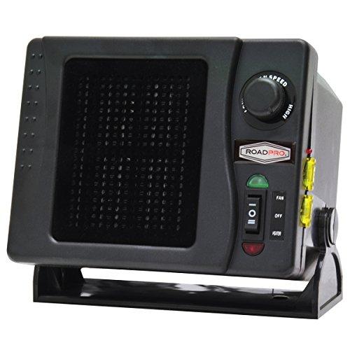 RoadPro C3608 12V High Power Heater-300W