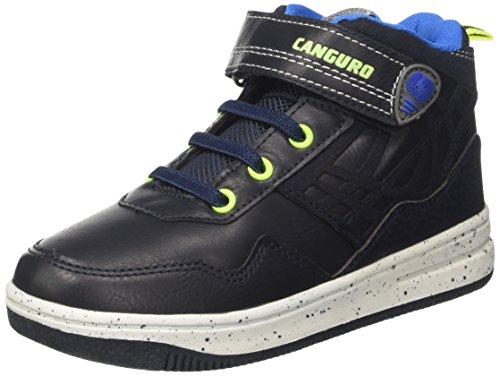 Canguro C57458i/Az, baskets montantes garçon, Bleu, 31 EU