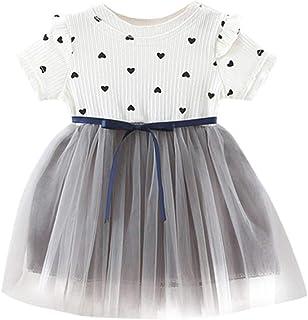 8e9783c16 Ropa Bebe Niña Verano 2019 SHOBDW Vestidos De Bebé Niñas Vestidos De  Princesa Sin Mangas Delgados