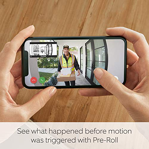 Ring Video Doorbell 3 Plus | 1080p HD video, Advanced Motion Detection, 4-second previews and easy installation | With 30-day free trial of Ring Protect Plan