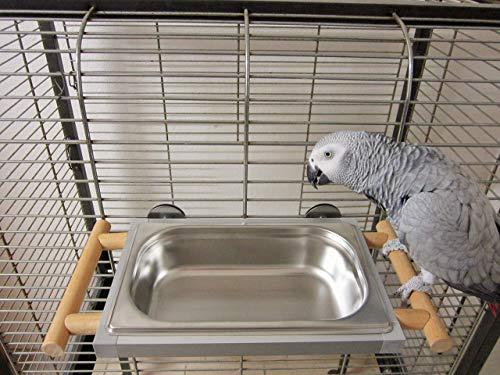 Papageienspielzeug, Badewanne, Vögel, Vogel, Papageien, Badehaus, abnehmbar, Neuheit