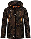 Geographical Norway Tambour Chaqueta Softshell Hombre - Caqui/Naranja, M