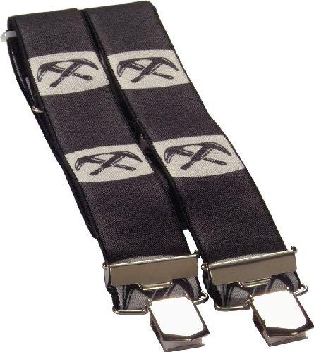 JOB 4-Clip Hosenträger DACHDECKER Zunftemblem 120 cm