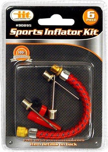 IIT 90895 Sports Inflator Kit, 6-Piece by IIT