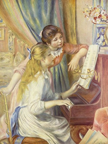 Lais Puzzle Pierre-Auguste Renoir - Due Ragazze al Pianoforte 500 Pezzi