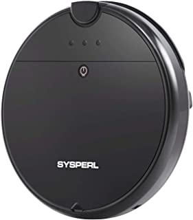 SYSPERL V10 Robot Vacuum Cleaner,Self-Charging Robotic Vacuum Cleaner,1800Pa Strong Suction, Ideal for Pet Hair,Hard Floor...