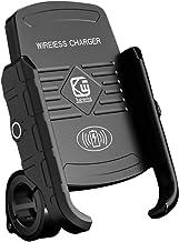 GARNECK Motorfiets Telefoon Houder Mount Fietsstuur Telefoon Houder Verstelbare Universele Gps Units Houder 15W Draadloos ...