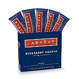 Larabar Gluten Free Bar, Blueberry Muffin, 1.6 oz Bars (5 Count), Whole Food Gluten Free Bars, Dairy Free Snacks