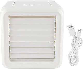 Caredy aparato de aire acondicionado, mini portátil USB espacio personal del acondicionador de aire del ventilador espacio personal del refrigerador de aire/humidificador/purificador/ventilador