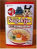 寿がきや スガキヤラーメン SUGAKIYA 名古屋の味 ノンフライ即席麺4食入 444g めん80gx4食 和風とんこつ 名古屋めし 高速限定