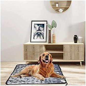Couverture chauffante multifonctionnelle, couverture électrique pour animaux de compagnie à température réglable, coussin chauffant électrique imperméable, chauffe-lit pour chien, couverture cha