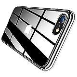 TORRAS iPhone SE用 ケース [第2世代] iPhone8/7用 ケース 4.7インチ 対応 高透明 薄型 黄ばみなし PC+TPU ハイブリッドケース 擦り傷防止 SGS認証 アイフォン7/8/SE用透明カバー (クリスタル・クリア)[ Diamond Series]