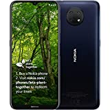 """Nokia G10 smartphone Scandinavian design, Dual SIM, RAM 3GB, ROM 32GB, up to 3 days battery life, improved 6.5"""" display, triple camera with AI modes, Android 11 - Night"""