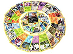 An assortment of 25 rare Pokemon cards. Every card has a minimum of 100HP! May include cards from any series. All cards are genuine and English-language. All cards have standard borders and backs. Because this is a random assortment, contents may var...