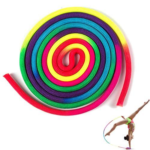 YCZCHE14 Cuerda de Gimnasia Rítmica Cuerda de Rítmicas Cuerda de Gimnasia Color...