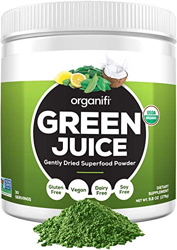 Organifi: Green Juice-Organic Superfood Powder - Vegan Greens with Ashwagandha