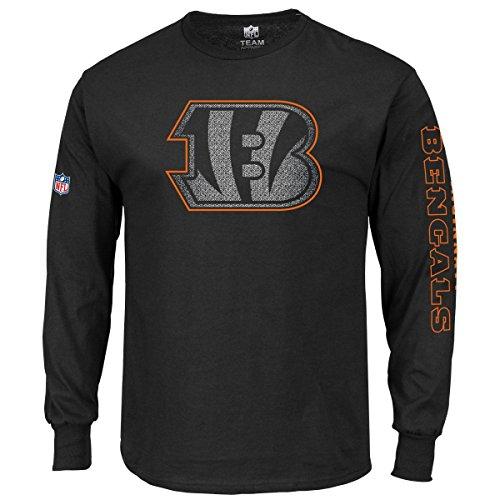 Majestic Longsleeve - NFL Cincinnati Bengals noir