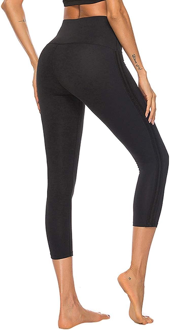 JOYMODE Women's Direct store Workout Capris Yoga Waist High overseas Running Leggings