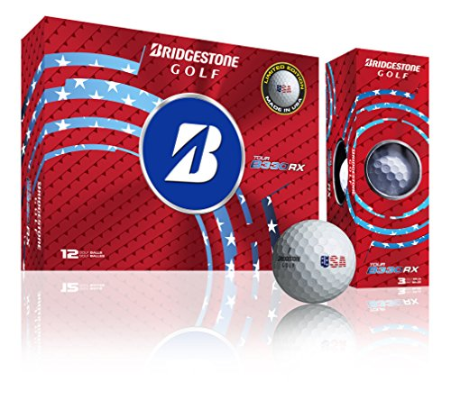 Best Prices! Bridgestone Golf RX White USA Limited Edition Pack (12 Balls)