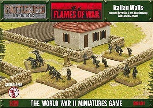 Battlefield in a Box Italian Walls by Battlefront