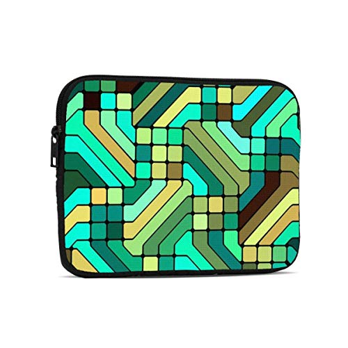 Colorful Leaf Texture 9.7' Tablets Sleeve Bags Polyester Protection Cover for Ipad Air 2 / Ipad Mini 7.9' Case Pouch