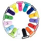 Domybest 10 Stück 10 Farben Baby Kind Plastikclip Multifunktionsclip Jungen Mädchen beschwichtigen Klipp